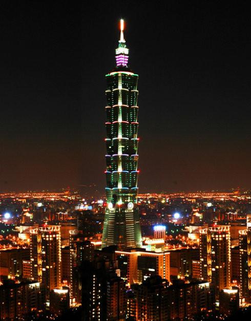 台北101大厦智能照明控制系统
