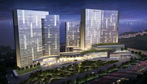 杭州华联万豪酒店智能灯光控制系统案例