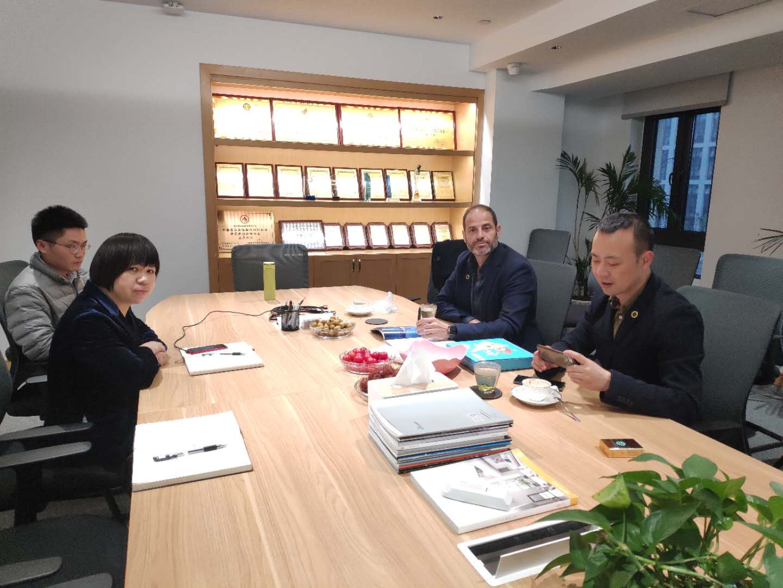 路创高层访问昌骏科技  深化战略合作